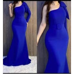 فستان كريب