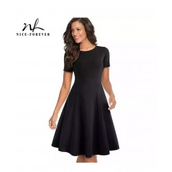 فستان كلودا قصير